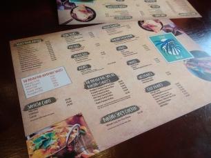indian, menu, the pakora bar,